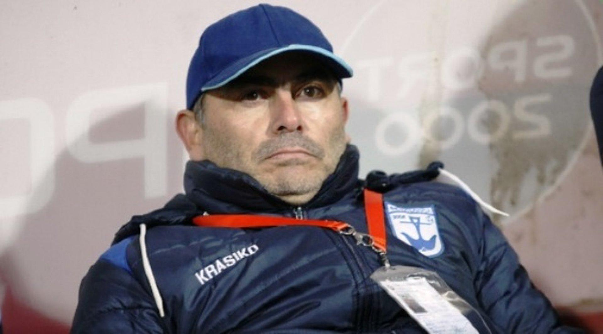 Румен Димов очаква клубът да заеме заслуженото място в родния футбол. Снимка Архив