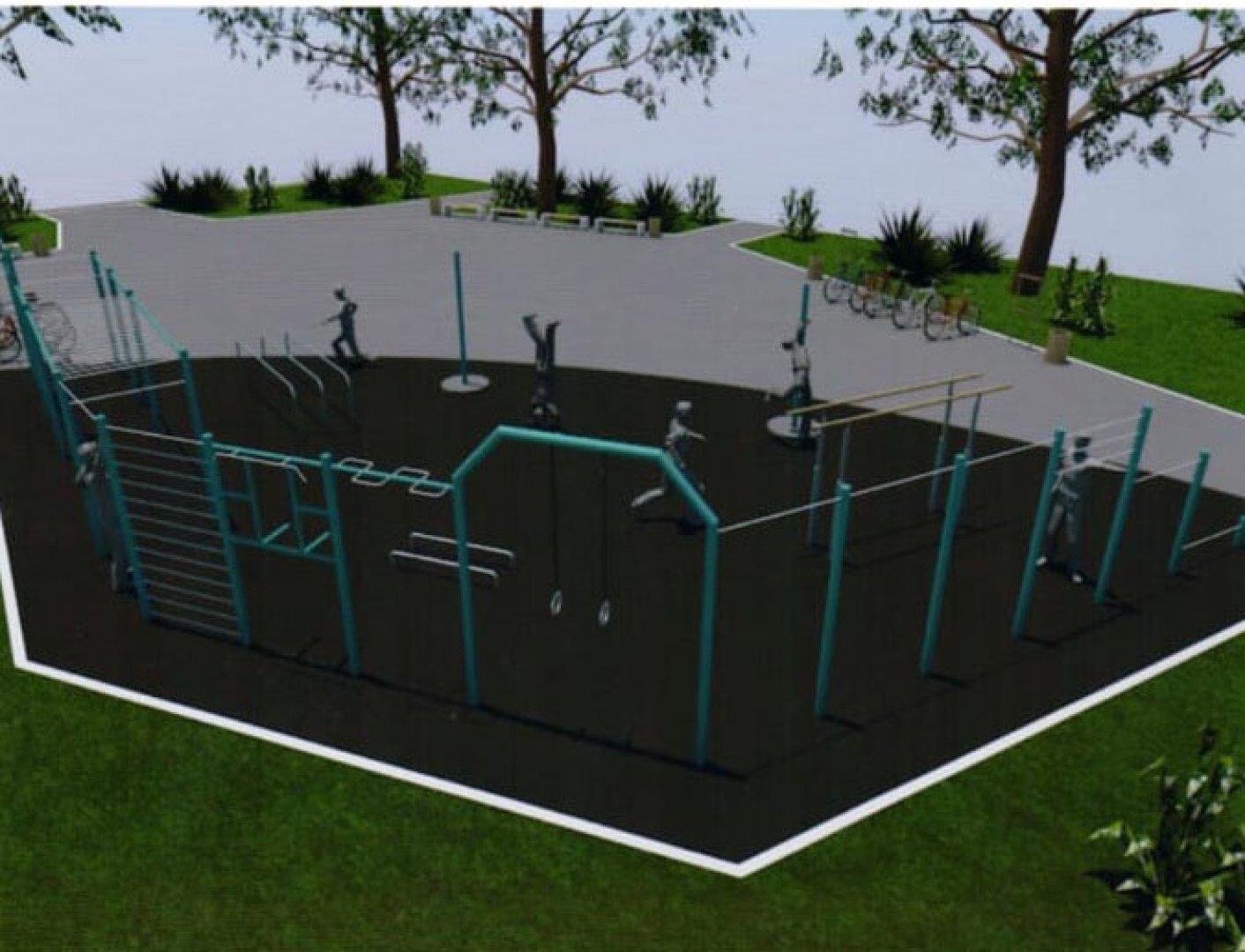 Средствата за изграждане на спортната площадка да бъдат заложени в Бюджет 2019