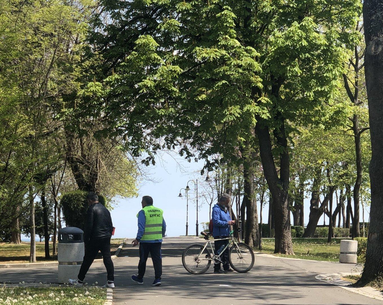 В парковете ще бъде разрешен и индивидуалния спорт и бягането. Снимка Архив Черноморие-бг