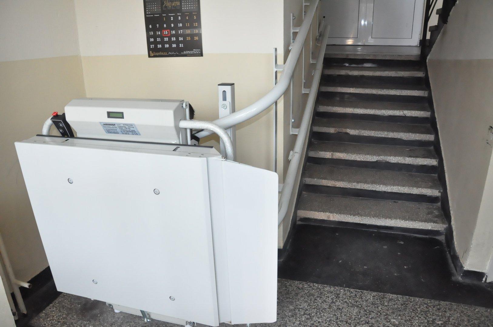 Проектите са по Националната програма за достъпна жилищна среда и лична мобилност. Снимка Община Бургас