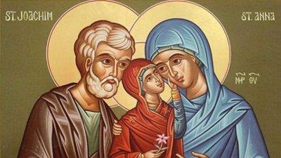 Мария се родила в семейството на Йоаким и Ана