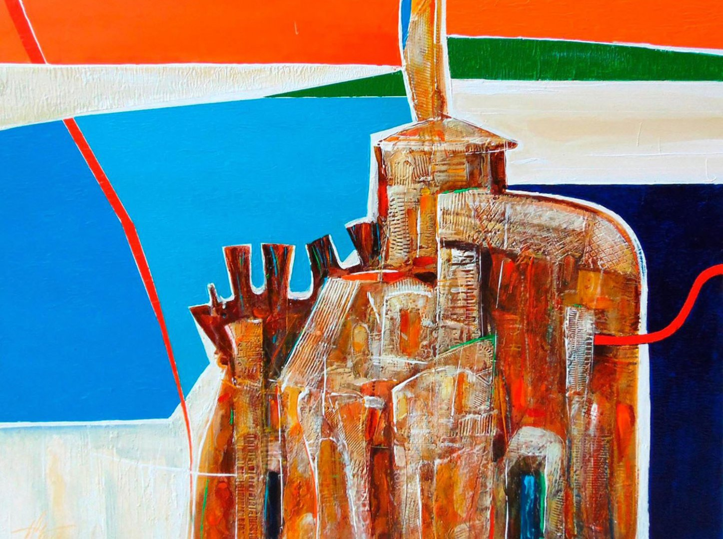 Художникът Тодор Тодоров гостува в галерия Бургас с 19 платна
