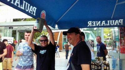 Победителят спечели петлитрово буренце с бира