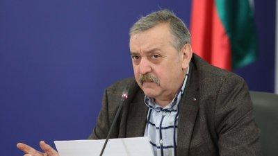 Третият важен елемент е времето за удвояване на заболяваемостта, заяви проф. Кантарджиев. Снимка Министерски съвет