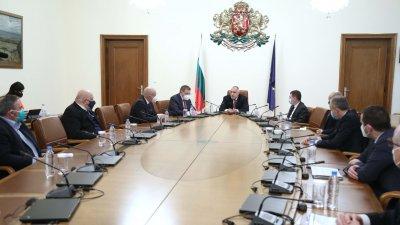 Премиерът Бойко Борисов от здравния министър да не се повтарят случая в Сандански с ваксинираните съветници. Снимка Министерски съвет