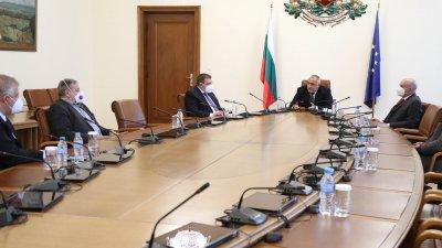 Състоянието на здравната система бе обсъдено на среща при премиера Бойко Борисов. Снимка Министерски съвет