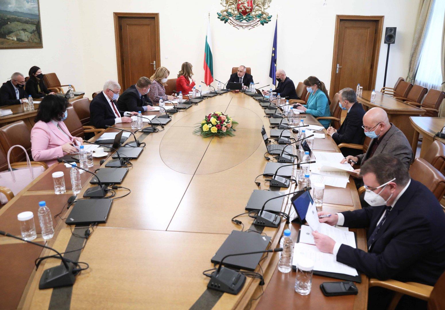 Мярката е коментирана на заседание на Министерски съвет. Снимка Министерски съвет