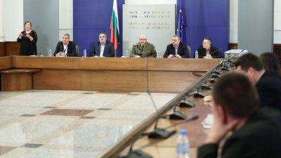 В Щаба се обсъждат разпускане на мерки и до октомври. Снимка Министерски съвет