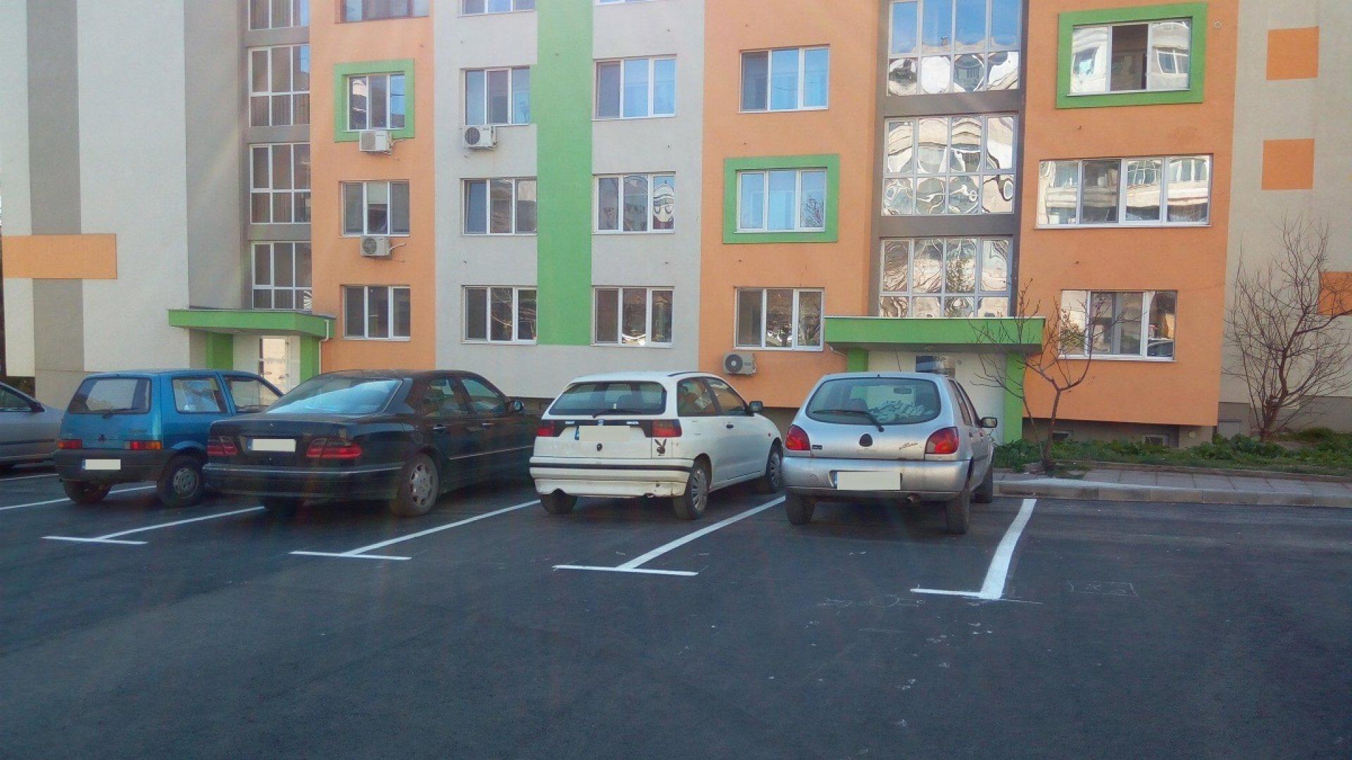 Така ще бъде решен дългогодишен проблем с паркирането. Снимка Община Бургас