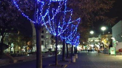 Светлините в града ще бъдат включени официално на 6-ти декември. Снимка Черноморие-Бг