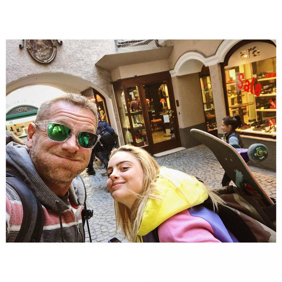 Юлиан Вергов за първи път ще участва във филм заедно с дъщеря си Алена. Снимка Личен архив