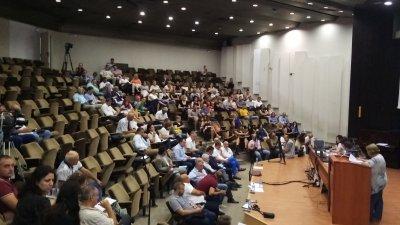 Общинският съвет одобри доклад за необходимостта от промени в плана. Снимка ОбС - Варна