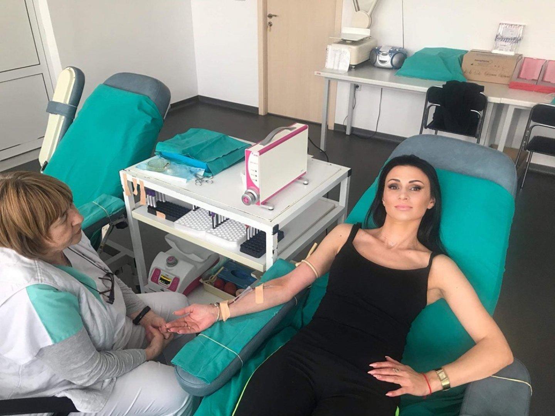 Кръвта спасява човешки живот. Няма нещо, което да може да я замени, казва Вержиния Иванова. Снимка УМБАЛ - Бургас