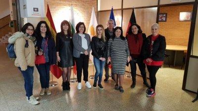 Ученици от X клас се включиха във втория етап на проекта. Снимки ПГМЕЕ - Бургас