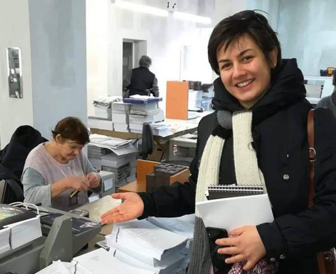 Анамария ще представи новата си стихосбирка в Дома на писателя в Бургас на 22-и февруари. Снимка Личен архив