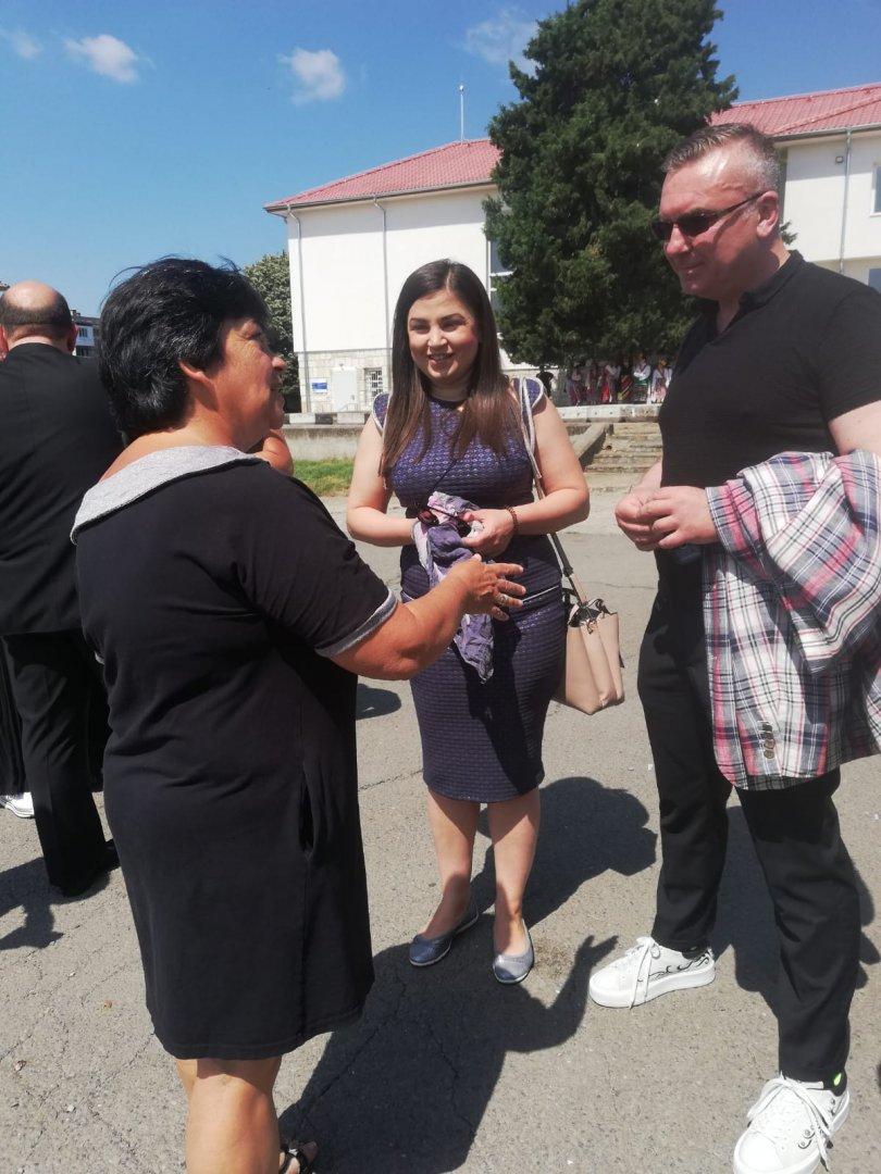 Димитър Бойчев и Галя Желязкова бяха сред гостите на откриването на обновената сграда. Снимки ГЕРБ - СДС