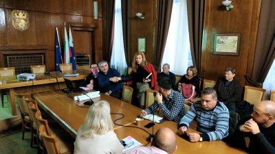 Подробности около проекта бяха обсъдени на работна среща в Община Бургас. Снимка Община Бургас