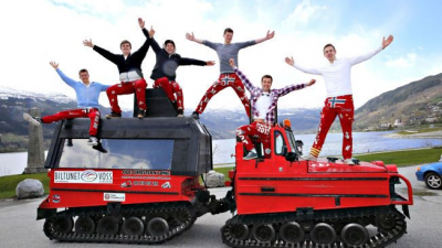 Завършването на средното образование в Норвегия се празнува масово и шумно. Foto Hallgeir Vågenes,VG