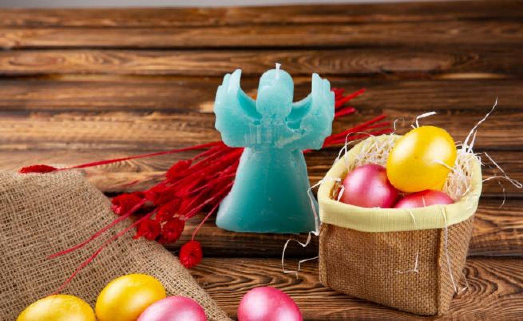 На Велики четвъртък се боядисват яйцата. Снимка iStock/Getty Images