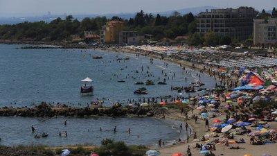 Инцидентът е станал в петък по обяд в района на Южния плаж в Поморие. Снимката е илюстративна