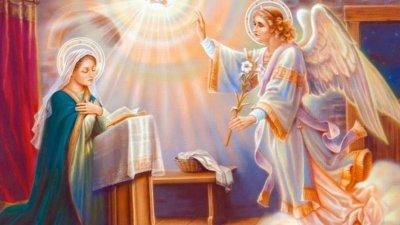 На този ден архангел Гавраил донася на Мария благата вест, че ще роди Спасителя