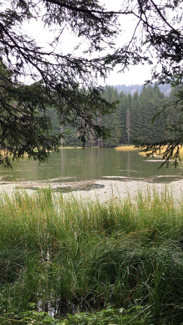 Смолянските езера са притегателен център за много туристи със своята красота. Снимки Авторът