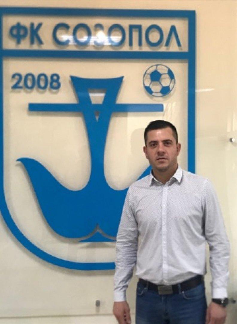 Станимир Желев е новият председател на Управителния съвет на ФК Созопол. Снимка ФК Созопол