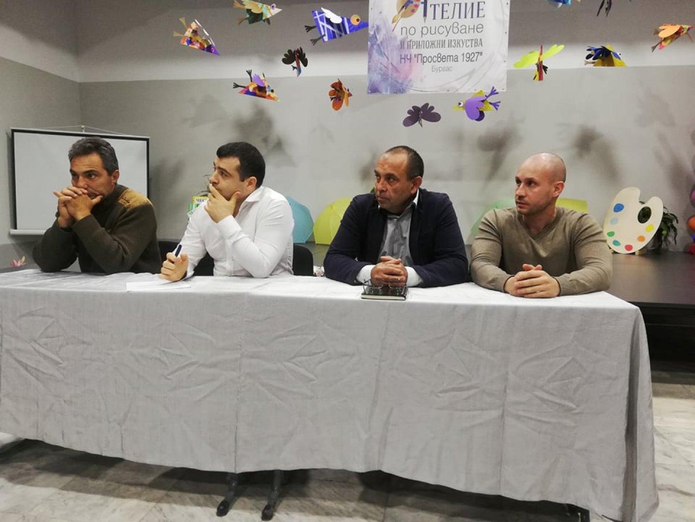 Срещата бе инициирана от съветника Константин Бачийски (вторият отляво надясно). Снимки СЕК