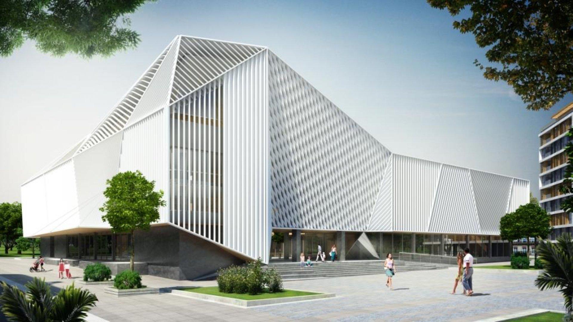 Така ще изглежда сградата на НХК след обновяването й
