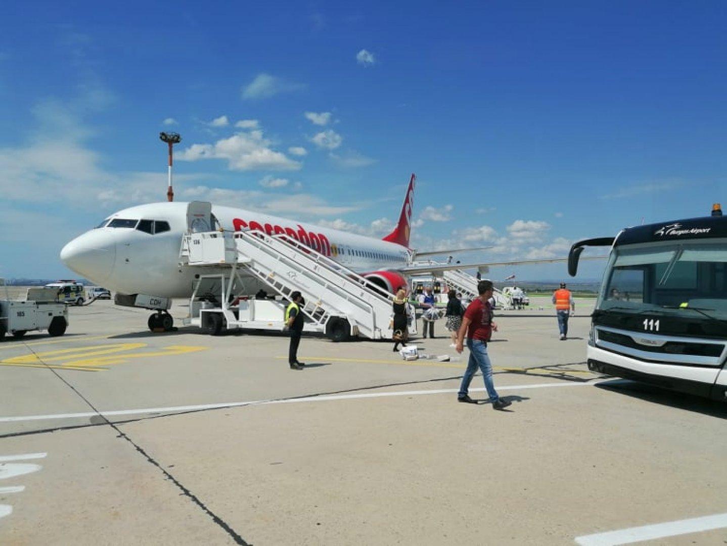 В страната може да се влезе и през ГКПП на Летище Бургас. Снимка Архив Черноморие-бг