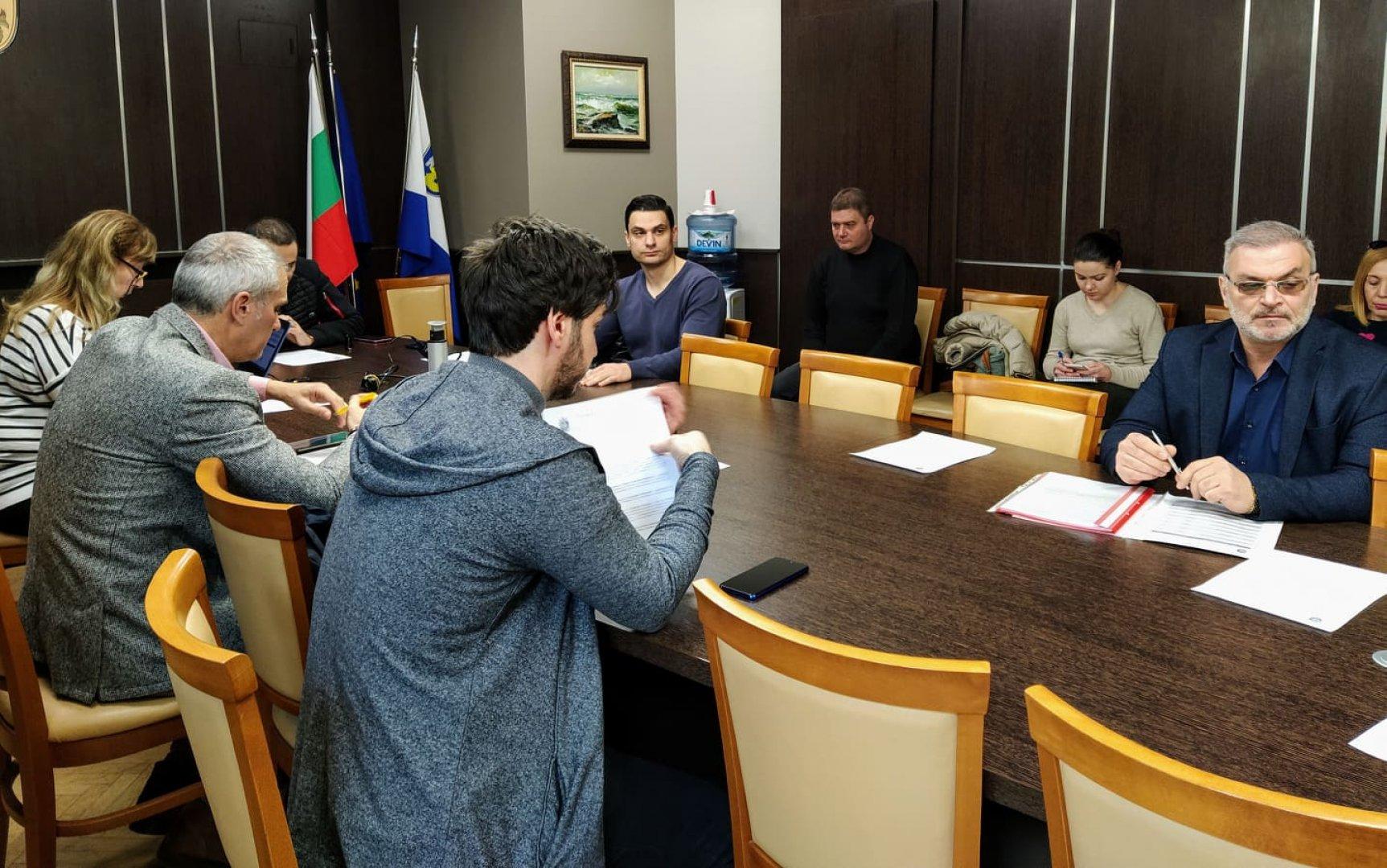 Съветниците от Комисията не подкрепиха докладната записка на колегата си от БСП. Снимка Авторът