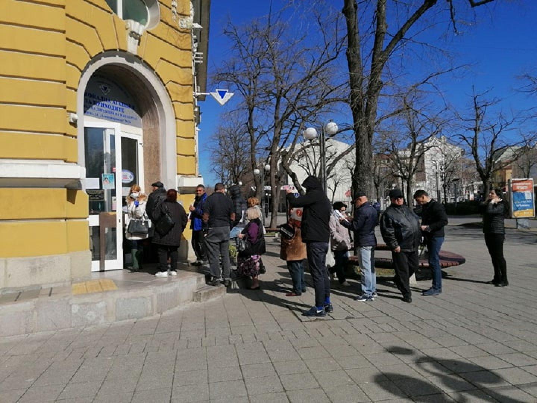 За първите девет месеца са обслужени 141 000 клиенти в НАП Бургас. Снимка Архив Черноморие-бг