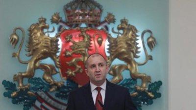 Президентът Радев ще връчи документите на новия кабинет на 12-ти май