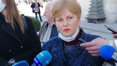 Изпитите ще се проведат при спазване на епидемичните мерки, каза Виолета Илиева. Снимка Архив Черноморие-бг