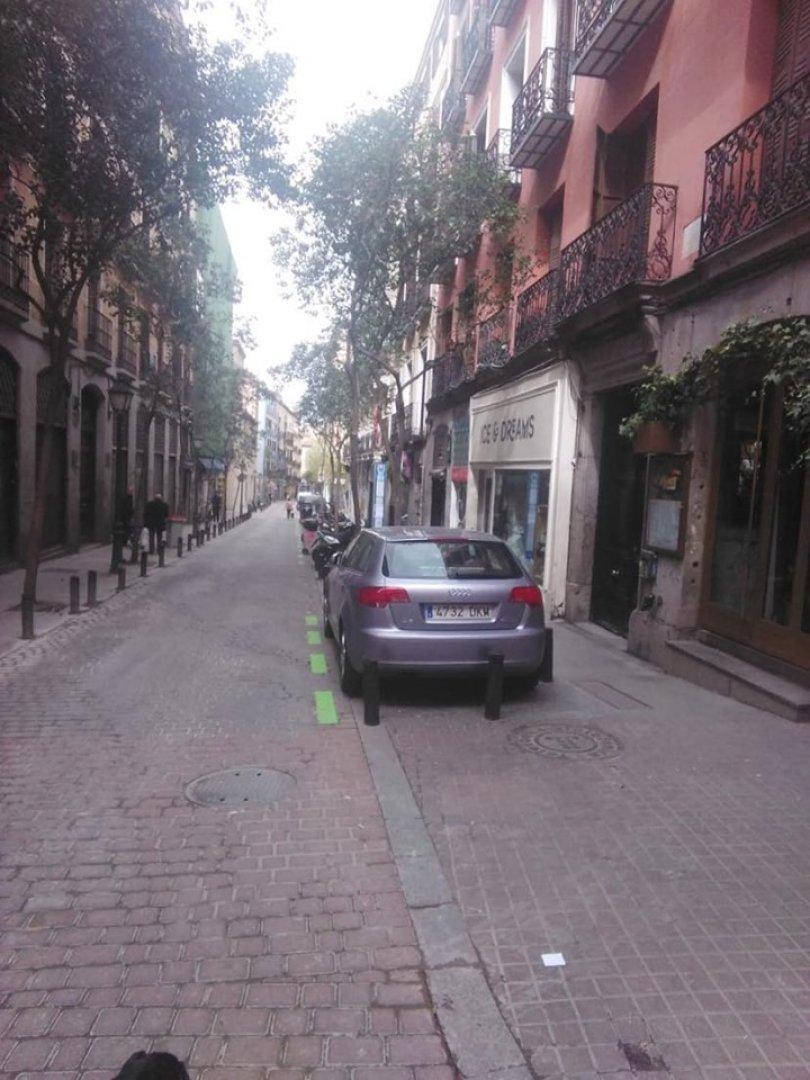 Улиците на Мадрид са почти празни, но паника и презапасяване сред населението няма. Снимки Ангелина Горанова