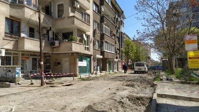 Дейностите по ремонта започнаха в началото на април. Снимки Черноморие-бг