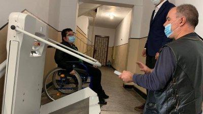 Проектите се реализират по Националната програма за достъпна жилищна среда. Снимки Община Бургас