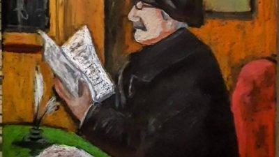 Това е рисунката, с която Джафер Лазаров спечели второ място