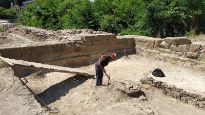 Разкопките на Акве Калиде приключиха в края на юли. Снимки Авторът.