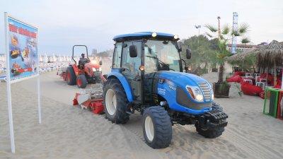 Разстилането на пясъка ще започне през пролетта. Снимки Лина Главинова