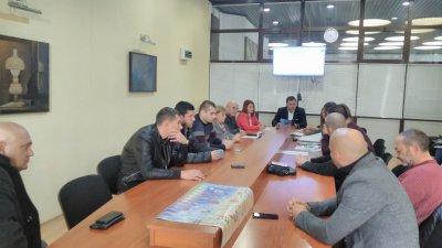 Докладната записка бе разгледана на заседание на Постоянната комисия по архитектура. Снимка ОбС - Варна