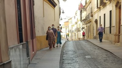 В Андалусия носенето на маска е задължително. Снимки Мария Горанова