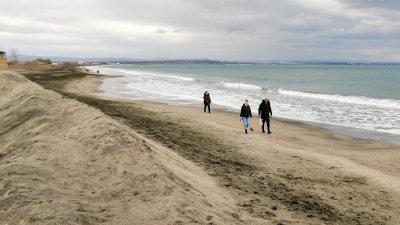 Максималните температури по Черноморието ще са между 4 и 7 градуса