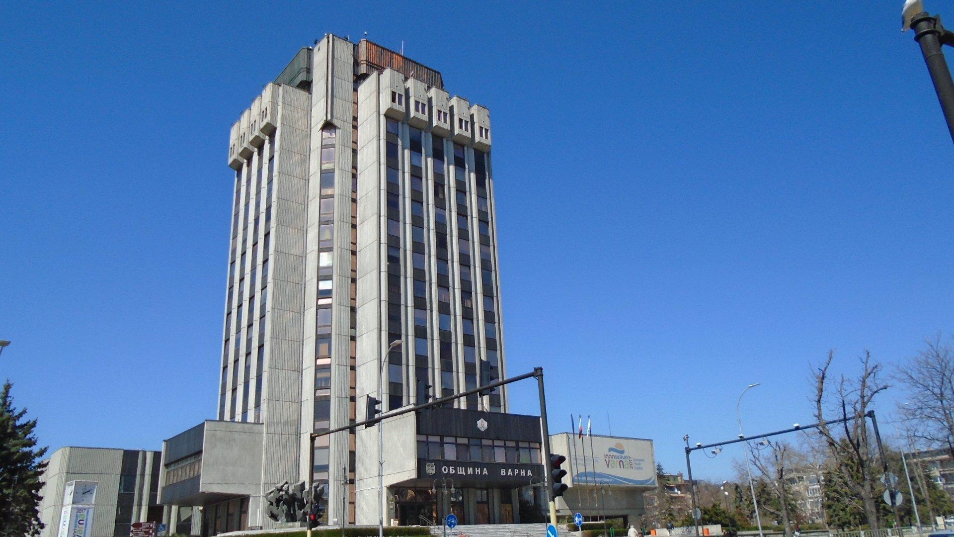 Консултациите ще се проведат в сградата на Община Варна. Снимка Архив Черноморие-бг