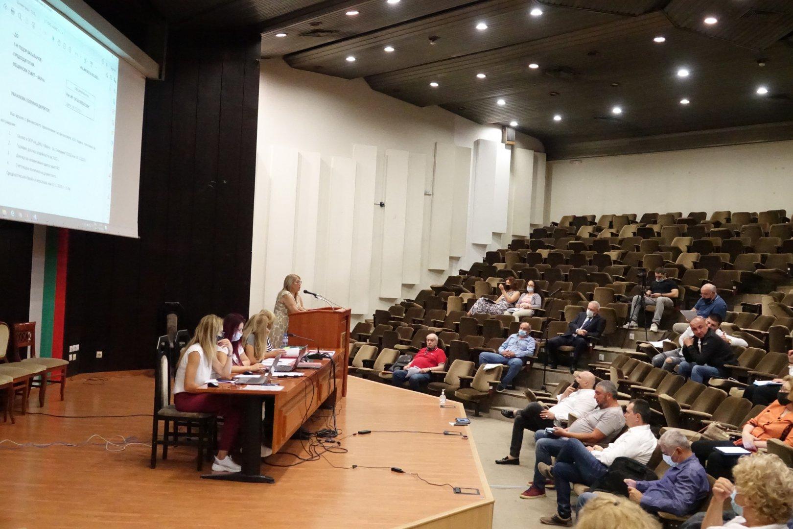 Отчетите на дружествата бяха разгледани на заседание на Постояннната комисия по собственост и стопанство в Общински съвет Варна. Снимка ОбС - Варна