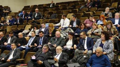 На второто заседание на ОбС бяха избрани 4-ма зам.-председатели. Снимка ОбС - Варна