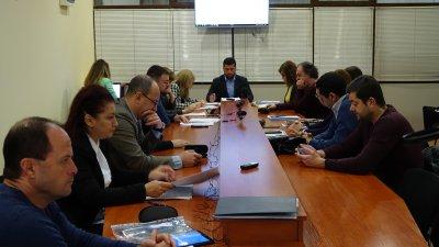 Съветниците от ресорната комисия разгледата докладната със заложените приходи от такса туристически данък. Снимка ОбС - Варна