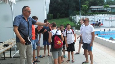 Сръбският треньор (вдясно) ще помага на отбора. Снимки СКВТ Черноморец