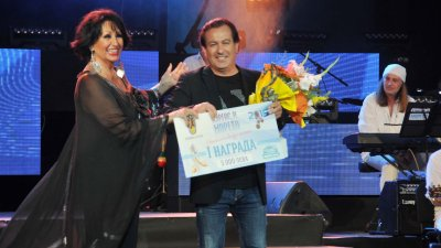 Миналата година първа награда на журито в конкурса спечели песента на Дани Милев. Снимка Архив Черноморие-бг