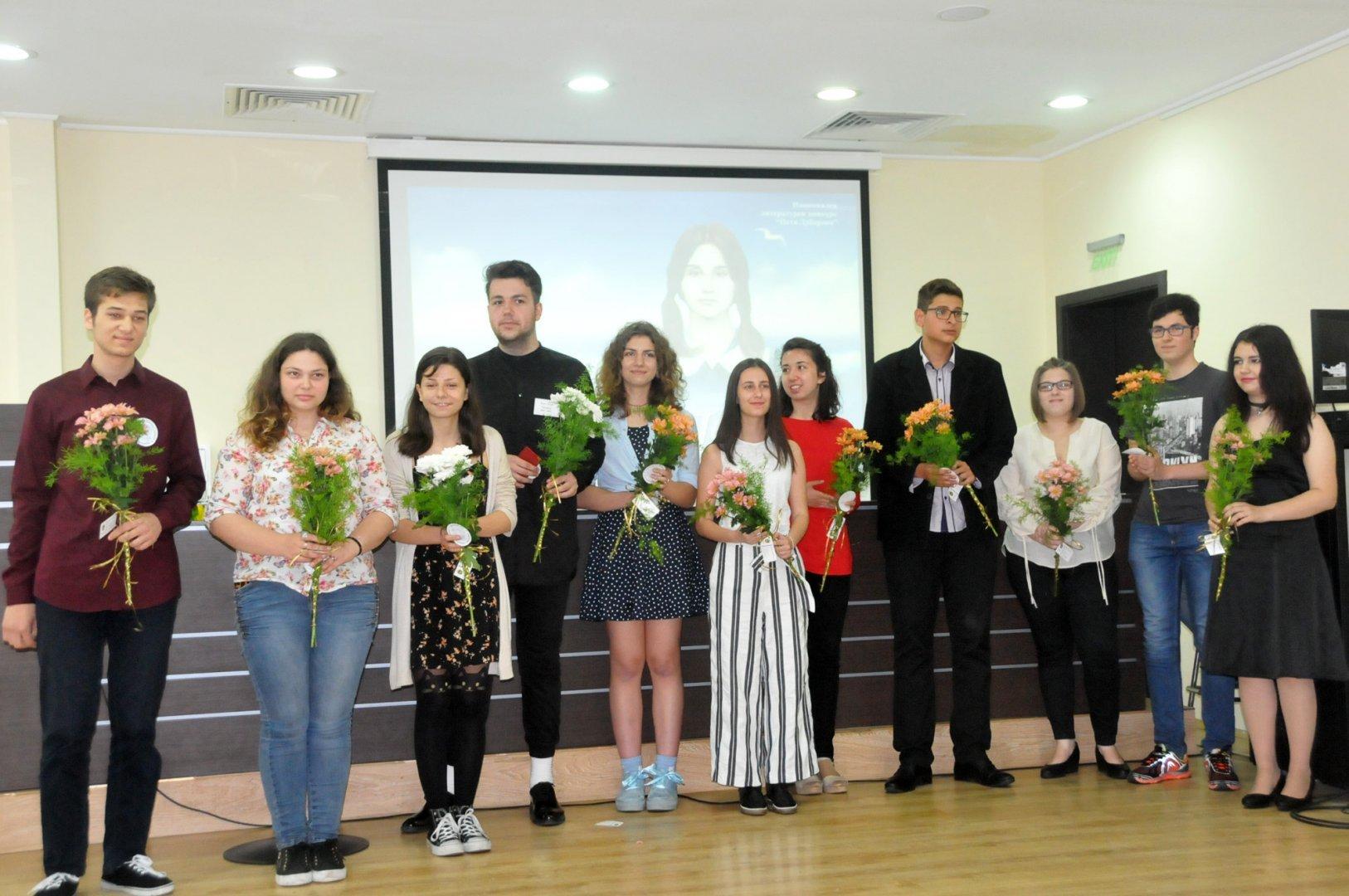 Наградите са връчват на официална церемония. Снимка Архив Черноморие-бг